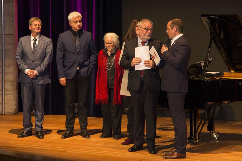 Die Jury des Finalkonzertes 2017