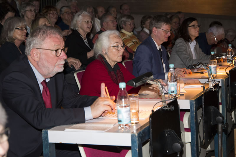 Die Jury bei der Beurteilung