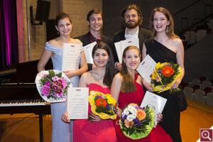 Foto der Finalisten - Konzert 2018
