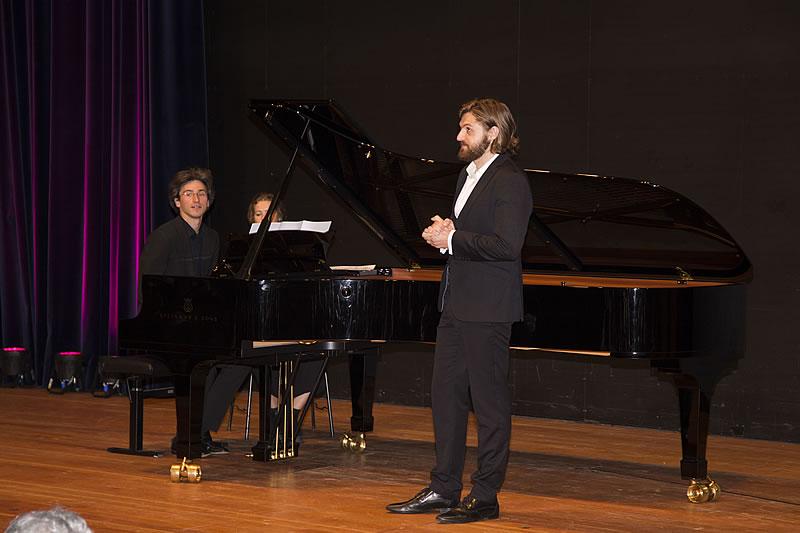 Nicholas Rimmer mit Bariton Konstantin Krimmel