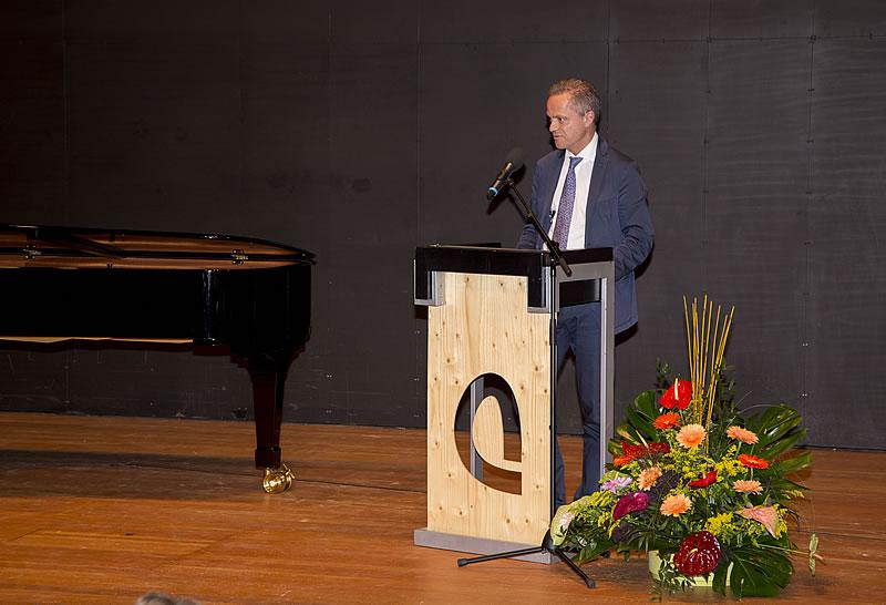 Jubiläumsansprache: Dr.-Ing. Christian Haferkorn (Vorstand der Hamel Stiftung)