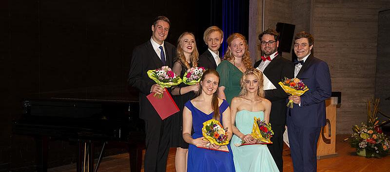Foto aller Teilnehmer - Finalkonzert 2019