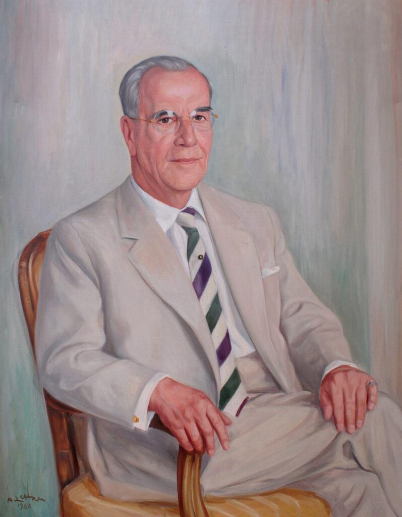 Portrait von Walter Hamel