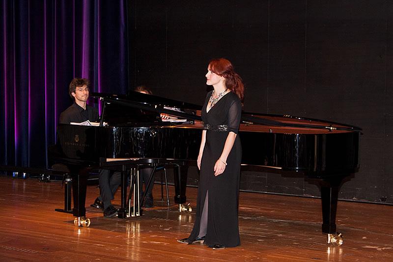 Nicholas Rimmer mit Nadezda Senstaskaya